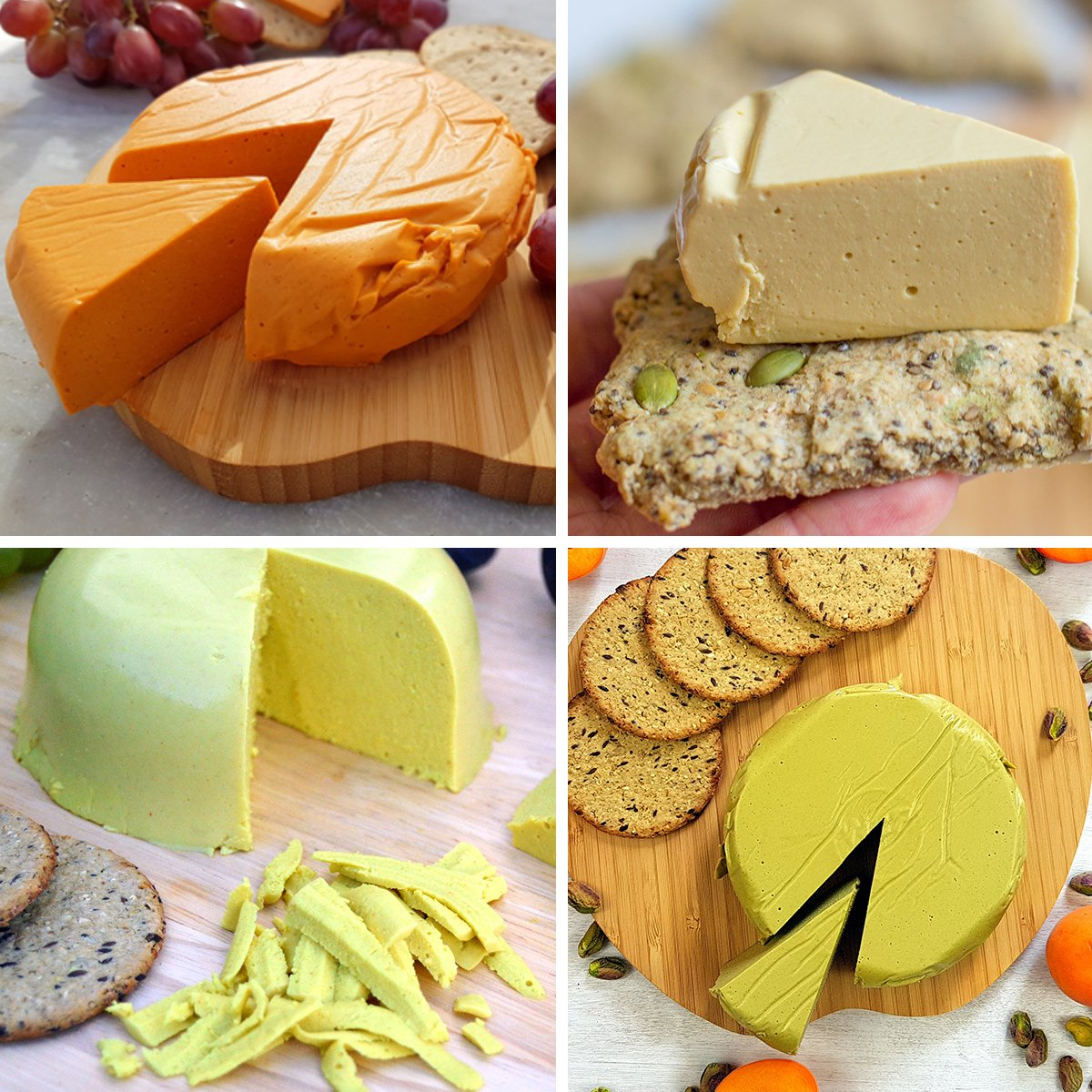 Vegan Hard Cheese Recipes